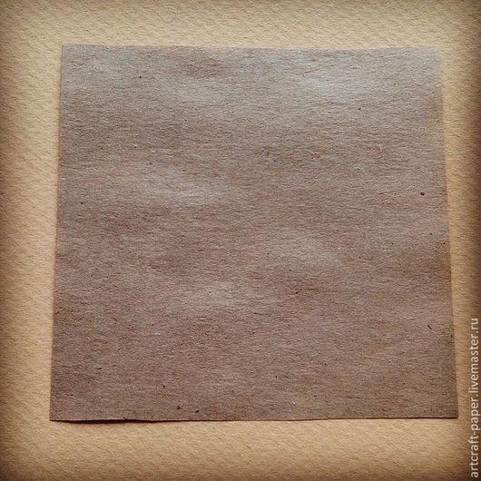 Насыщенно-коричневый крафт. Плотность - 70г/м2. Тонкая бумага. Размер листа: 21x21см - цена за лист - 5 рублей.