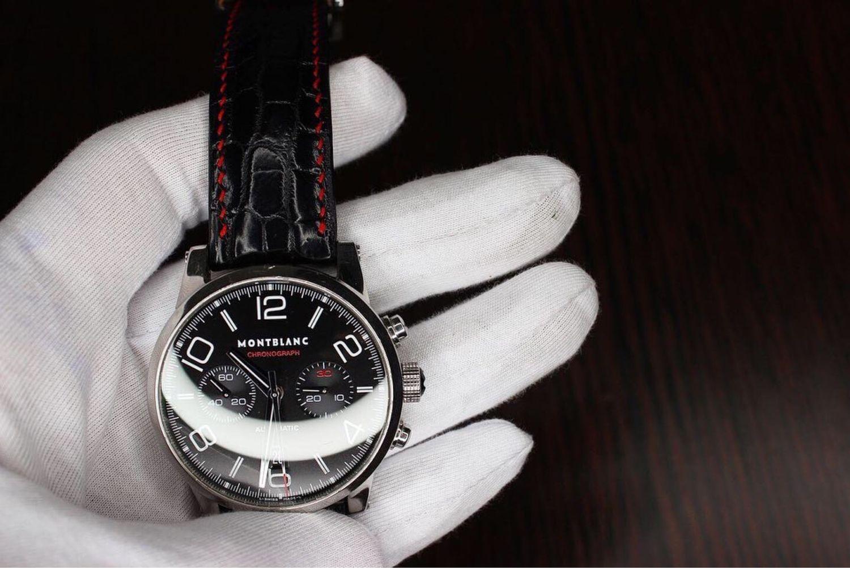 Ремешок для часов из кожи крокодила, Ремни, Москва,  Фото №1