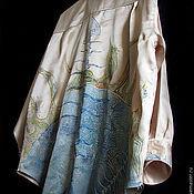 """Одежда ручной работы. Ярмарка Мастеров - ручная работа блуза """"Претворяя восход"""". Handmade."""