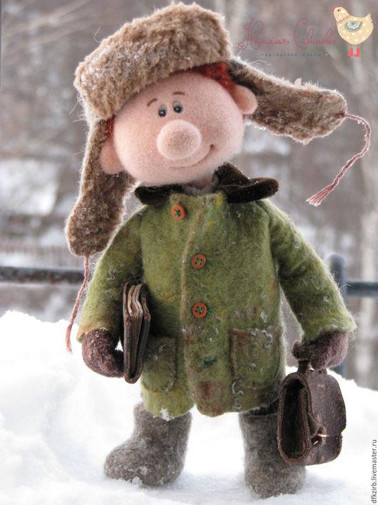 Коллекционные куклы ручной работы. Ярмарка Мастеров - ручная работа. Купить Пашка... Handmade. Комбинированный, авторская ручная работа