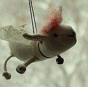 Куклы и игрушки ручной работы. Ярмарка Мастеров - ручная работа Овечка- эльф. Handmade.