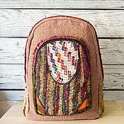 Сумки и аксессуары handmade. Livemaster - original item Backpack made of hemp #s2031b. Handmade.