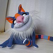 Куклы и игрушки ручной работы. Ярмарка Мастеров - ручная работа Кот полосатый. Handmade.
