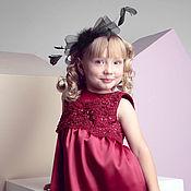 Одежда handmade. Livemaster - original item Burgundy dress