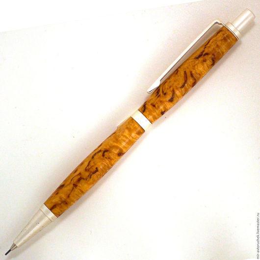 """Карандаши, ручки ручной работы. Ярмарка Мастеров - ручная работа. Купить Карандаш """"Слим"""" карелка. Handmade. Карандаш, оригинальный подарок"""