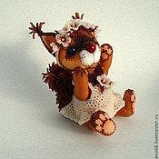 Куклы и игрушки ручной работы. Ярмарка Мастеров - ручная работа Бисерная игрушка Белочка. Handmade.