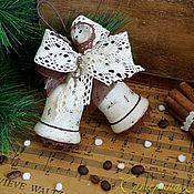 """Подарки к праздникам ручной работы. Ярмарка Мастеров - ручная работа Колокольчики """"Праздничный оркестр..."""". Handmade."""