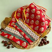 Мешочки ручной работы. Ярмарка Мастеров - ручная работа Мешочки: Мешочки для кухни или для подарков. Handmade.
