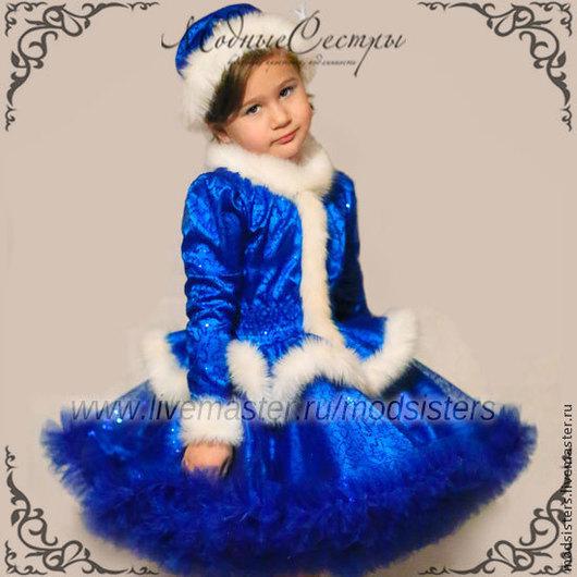 """Одежда для девочек, ручной работы. Ярмарка Мастеров - ручная работа. Купить Костюм """"Снегурочка"""" Арт.172. Handmade. Детское платье"""