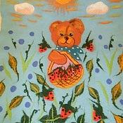 Для дома и интерьера ручной работы. Ярмарка Мастеров - ручная работа Одеяло валяное детское. Handmade.