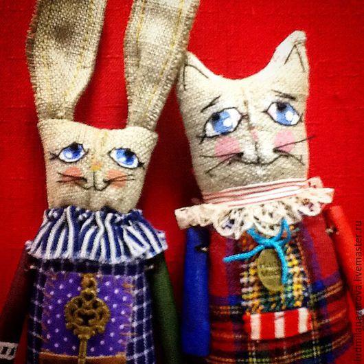 Мишки Тедди ручной работы. Ярмарка Мастеров - ручная работа. Купить Заяц игрушечный.. Handmade. Комбинированный, творческая работа