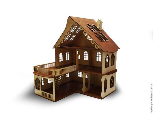 Кукольный дом ручной работы. Ярмарка Мастеров - ручная работа. Купить кукольный домик. Handmade. Кукольные домики