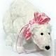 Игрушки животные, ручной работы. Ярмарка Мастеров - ручная работа. Купить Tilda White Polar Bear/ Тильда белый полярный медведь. Handmade.