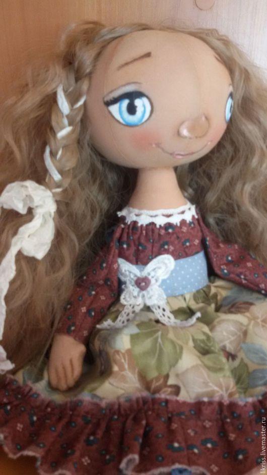 Куклы тыквоголовки ручной работы. Ярмарка Мастеров - ручная работа. Купить Малышка тыковка. Handmade. Комбинированный, текстильная кукла