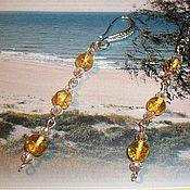 Украшения handmade. Livemaster - original item Earrings long earrings amber natural stone amber for girls. Handmade.