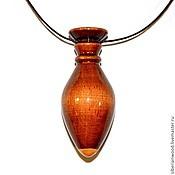 Украшения handmade. Livemaster - original item Wooden pendant Aromacology natural wood (Cedar). Handmade.