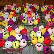 """Цветы и флористика ручной работы. Ярмарка Мастеров - ручная работа """"Крокусы"""". Handmade."""