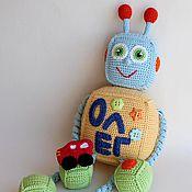 Куклы и игрушки handmade. Livemaster - original item Robots. Handmade.