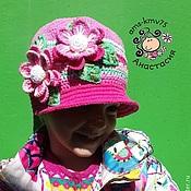 """Работы для детей, ручной работы. Ярмарка Мастеров - ручная работа Шляпка кепка """"Калейдоскоп весны"""". Handmade."""