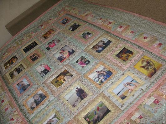 Подарки на свадьбу ручной работы. Ярмарка Мастеров - ручная работа. Купить лоскутное покрывало свадебное (9). Handmade. одеяло пэчворк