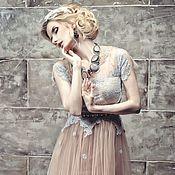 Одежда ручной работы. Ярмарка Мастеров - ручная работа Новогодняя акция 60%!Роскошное  платье на корсете.. Handmade.