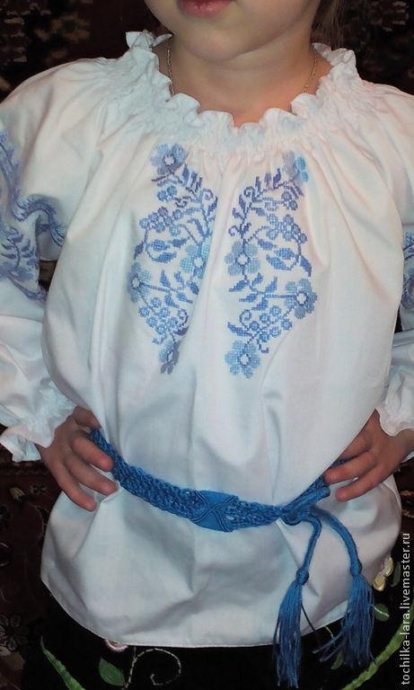 Этническая одежда ручной работы. Ярмарка Мастеров - ручная работа. Купить Детская вышиванка. Handmade. Вышиванка, детская вышитая сорочка