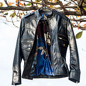 Одежда handmade. Livemaster - original item Jacket made of genuine leather . Leather jacket. Handmade.