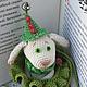 Сказочные персонажи ручной работы. Детство Белого кролика. НаталИ                 (Добрый Кот). Ярмарка Мастеров. Белый кролик, интерьерная кукла