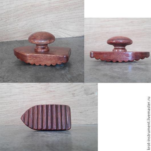Мастерская `Крот` - инструменты для валяния (Инструмент `Утюжок с ручкой`)