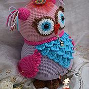 Куклы и игрушки ручной работы. Ярмарка Мастеров - ручная работа Карамельная совушка. Handmade.