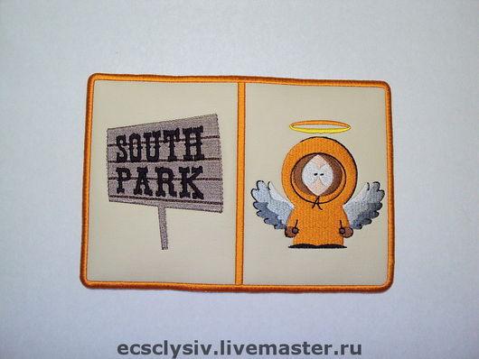 """Обложки ручной работы. Ярмарка Мастеров - ручная работа. Купить Обложка для паспорта """"South Park"""". Handmade. Обложка, обложка на документы"""