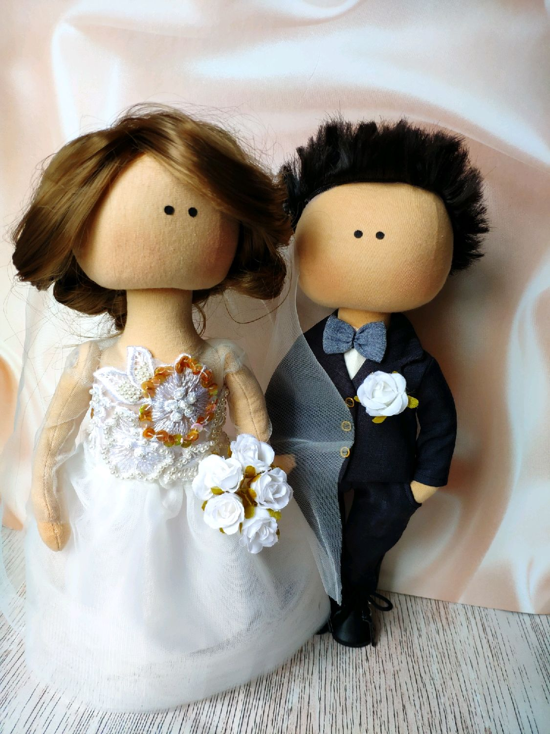 Happy married dolls like gift for wedding, Dolls, Moscow,  Фото №1