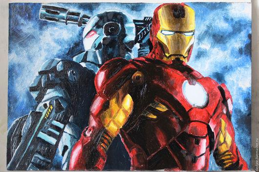 Железный человек (Iron Man) - Один из самых знаменитых супер героев нашего времени, как по фильмам так и по комиксам компании Miromax, отлично будет дополнять коллекцию любого  ценителя