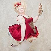 Куклы и игрушки ручной работы. Ярмарка Мастеров - ручная работа Дама червей. Handmade.