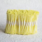 Тычинки ручной работы. Ярмарка Мастеров - ручная работа Тычинки светло-желтые мелкие головки. Handmade.