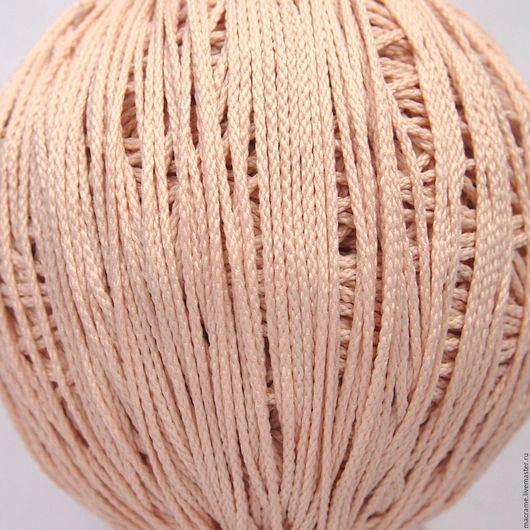 Для украшений ручной работы. Ярмарка Мастеров - ручная работа. Купить Шнур плетеный полиэфирный 1,5 мм светло-персиковый. Handmade.