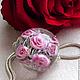 Для украшений ручной работы. Ярмарка Мастеров - ручная работа. Купить Кулон-шар в стиле Пандора Розовый Сад. Handmade.