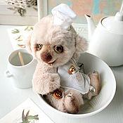 Куклы и игрушки ручной работы. Ярмарка Мастеров - ручная работа Мишка Тедди Поварёшкин. Handmade.