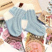 Носочки ручной работы. Ярмарка Мастеров - ручная работа Детские носочки размер 13,5-14 см по стопе. Handmade.