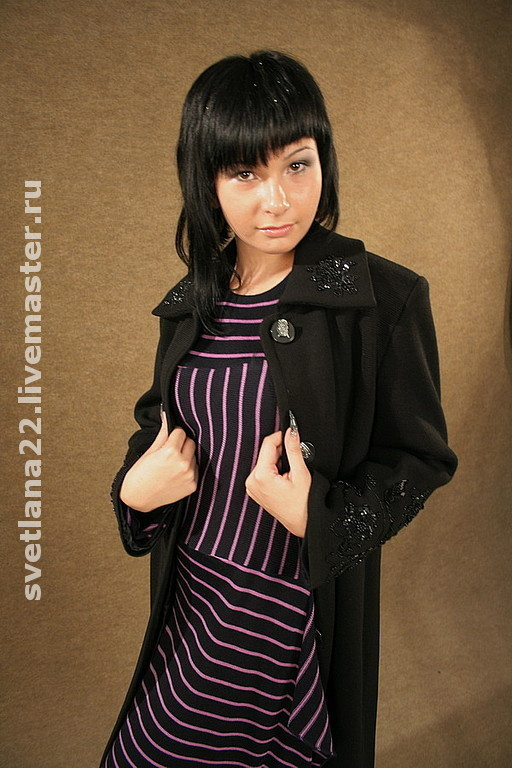 """Outer Clothing handmade. Livemaster - handmade. Buy Knitted coat """"Business lady"""".Knitted coat, wool coat"""