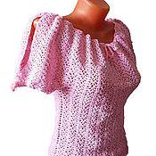 Одежда handmade. Livemaster - original item Summer blouse crochet master class (video). Handmade.