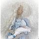 Сказочные персонажи ручной работы. Ярмарка Мастеров - ручная работа. Купить Ариан ангел материнства текстильная интерьерная кукла. Handmade.