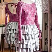 """Одежда ручной работы. Ярмарка Мастеров - ручная работа Вечернее платье """"Фуксия"""". Handmade."""