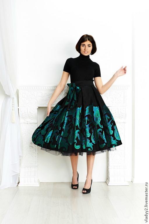 Сшить юбку из купона