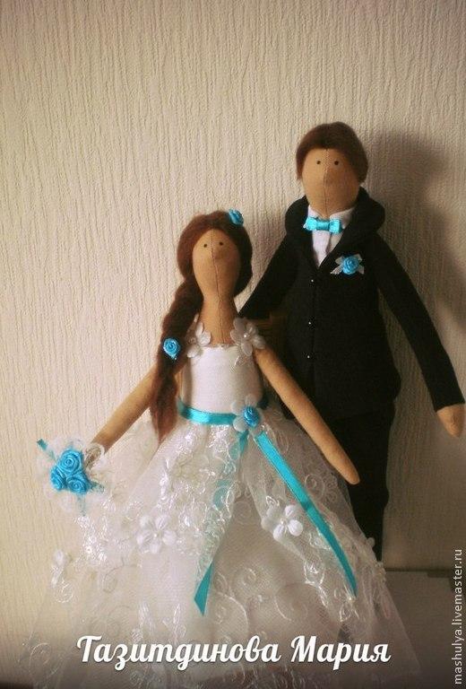 Подарки на свадьбу ручной работы. Ярмарка Мастеров - ручная работа. Купить Свадебные тильды. Handmade. Свадебные куклы, подарок молодым