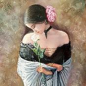 Картины и панно handmade. Livemaster - original item Spanish. Oil painting.. Handmade.