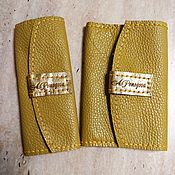 Ключницы ручной работы. Ярмарка Мастеров - ручная работа Набор: ключница и обложка на паспорт. Handmade.