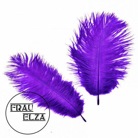 Другие виды рукоделия ручной работы. Ярмарка Мастеров - ручная работа. Купить Маленькие перья страуса 15-17 см Лаванда. Handmade.