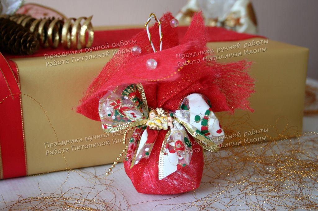 красивая упаковка для подарков конфет