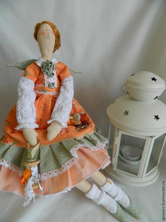 Куклы Тильды ручной работы. Ярмарка Мастеров - ручная работа. Купить Кукла Тильда Швейная Фея. Handmade. Кукла Тильда